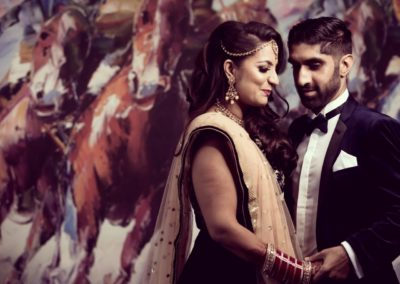 Asian Wedding at Newbury Racecourse
