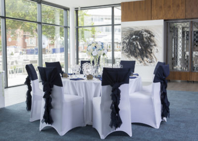 Owners Club wedding at Newbury Racecourse